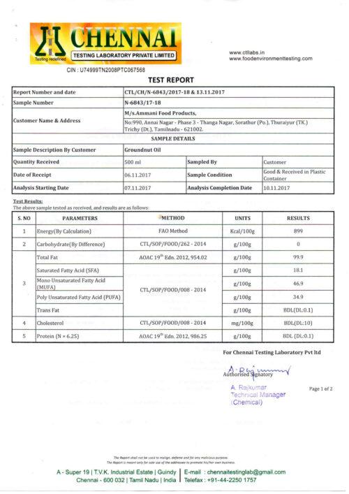 TEST-Report-1